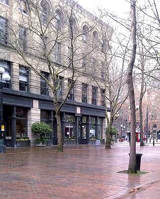 pioneer square historic Burke building